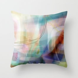 Coconut Creme Brule Throw Pillow