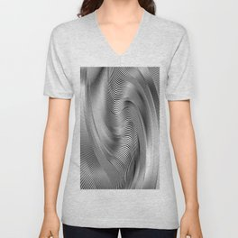 Abstract Zibra Art Unisex V-Neck