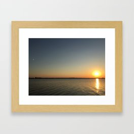 Mirror Effect Framed Art Print