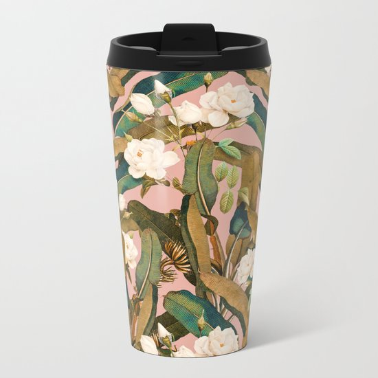 Summer Botanical Garden V Metal Travel Mug