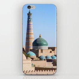 Islam Khodja - Khiva, Uzbekistan iPhone Skin