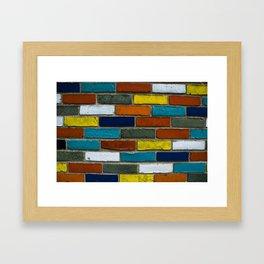 Color Wall Framed Art Print