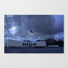 Glory & Honor Canvas Print
