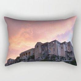 Tropea In Calabria At Sunset Rectangular Pillow