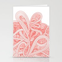paisley Stationery Cards featuring Paisley by Laurie Mildenhall
