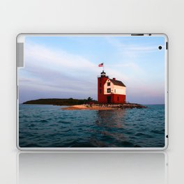 Round Island Lighthouse Laptop & iPad Skin