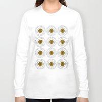 daisy Long Sleeve T-shirts featuring Daisy by Lorelei Douglas