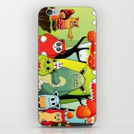 The Gang iPhone Skin