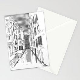 Greyscale Venice Stationery Cards