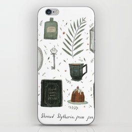 House of the Cunning iPhone Skin