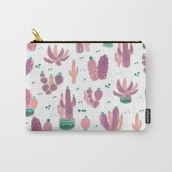 pinky cactus Carry-All Pouch
