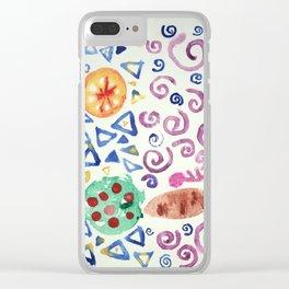 it wont make sense Clear iPhone Case
