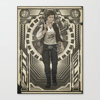 han solo Canvas Prints featuring Han Solo by TriStarr