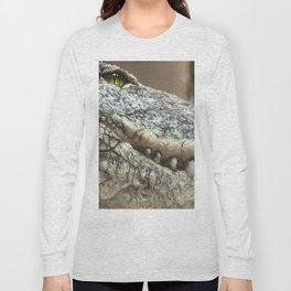 Wildlife Collection: Crocodile Long Sleeve T-shirt