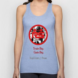 Royal Society Fitness Combat RED Unisex Tank Top