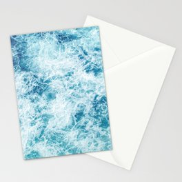Sea ocean storm waves Stationery Cards