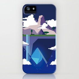 Wallpaper Laputa concept iPhone Case