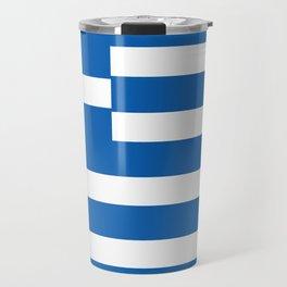 Greek Flag National Flag of Greece Travel Mug