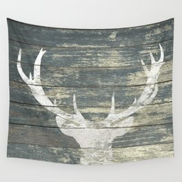 Rustic Deer Silhouette A311 Wall Tapestry