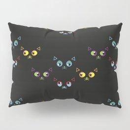 Cat Pattern Pillow Sham