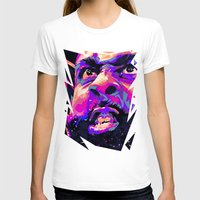 nba T-shirts featuring JAMES HARDEN: NBA ILLUSTRATION V2 by mergedvisible