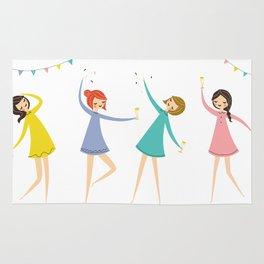 celebrate women Rug