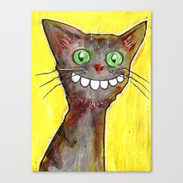 Derp Cat Canvas Print