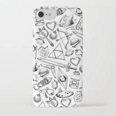 Zelda A Collection of Items Pattern Slim Case iPhone 7