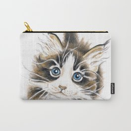 Cute Maine Coon Kitty Carry-All Pouch