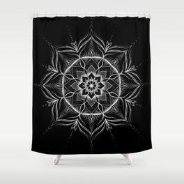 """""""River"""" mandala Shower Curtain"""