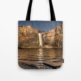 Desert Waterfall - Summer In Palouse Tote Bag