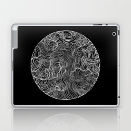 Black Riptide Laptop & iPad Skin