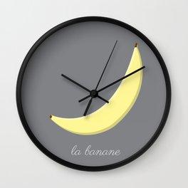 La Banane Wall Clock