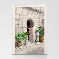 arab Stationery Cards featuring Arab Baths Palma de Mallorca DP151029b-14 by CSteenArt