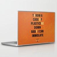 lyrics Laptop & iPad Skins featuring Honey - Melivns lyrics. by Joe Young