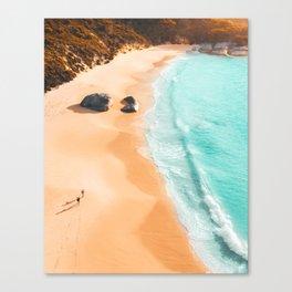 Two Peoples Bay - Little beach, Western Australia Canvas Print