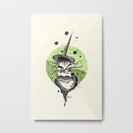 17. Witch  Metal Print