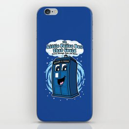 The Little Police Box iPhone Skin