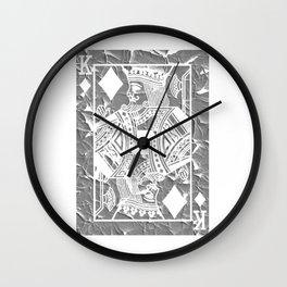 Playing Card Poker Wall Clock