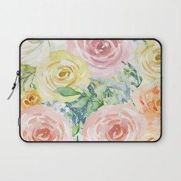 Botanical Pastel Beauty Laptop Sleeve