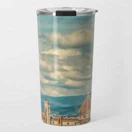 Duomo in Florence Skyline Travel Mug