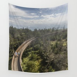 Ramp at Clingmans Dome in the Great Smoky Mountains Wall Tapestry