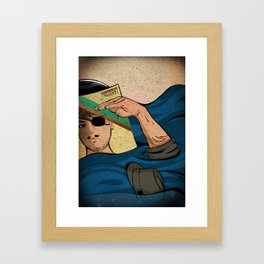 To The Boat That Rocked Framed Art Print