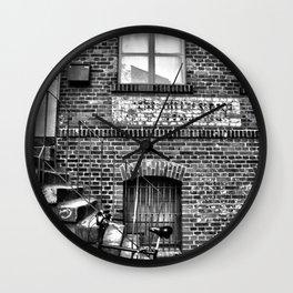 Old bike Wall Clock