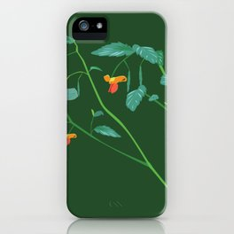Jewel weed - illustration iPhone Case