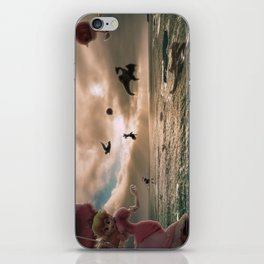 Flying With Friends - Super Smash Brothers iPhone Skin