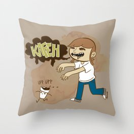 Kafeh! Throw Pillow