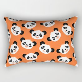 Happy Pandas Rectangular Pillow