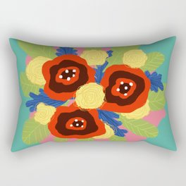 Bouquet #1 Rectangular Pillow
