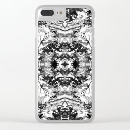 Lake Reflections, I Clear iPhone Case